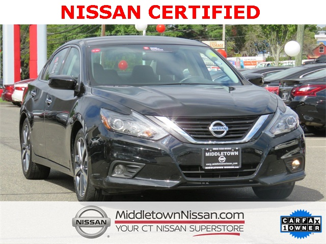 certified pre-owned 2017 nissan altima 2.5 sr 4d sedan in middletown