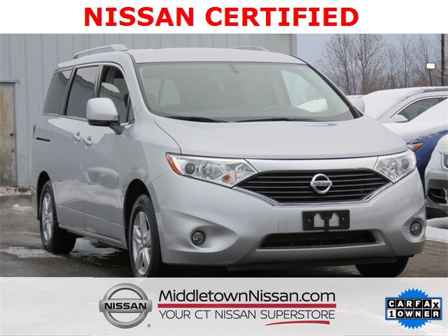 Certified Pre Owned 2017 Nissan Quest 3 5 Sv