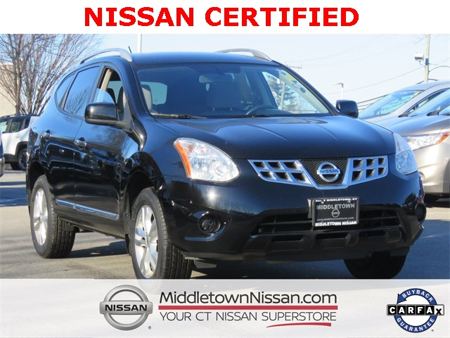 Certified Pre-Owned 2013 Nissan Rogue SV