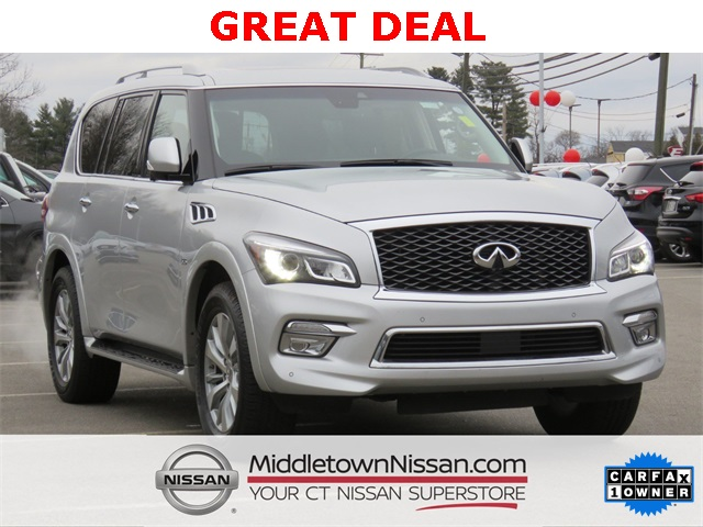 Pre-Owned 2017 INFINITI QX80 .