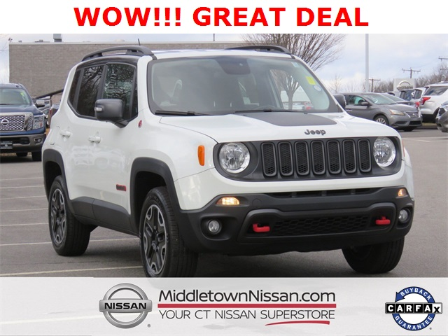 Pre Owned 2017 Jeep Renegade Trailhawk