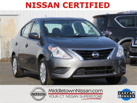 Certified Pre-Owned 2018 Nissan Versa 1.6 S